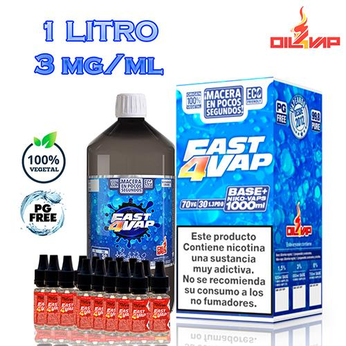 Oil4Vap Base Fast4Vap Pack