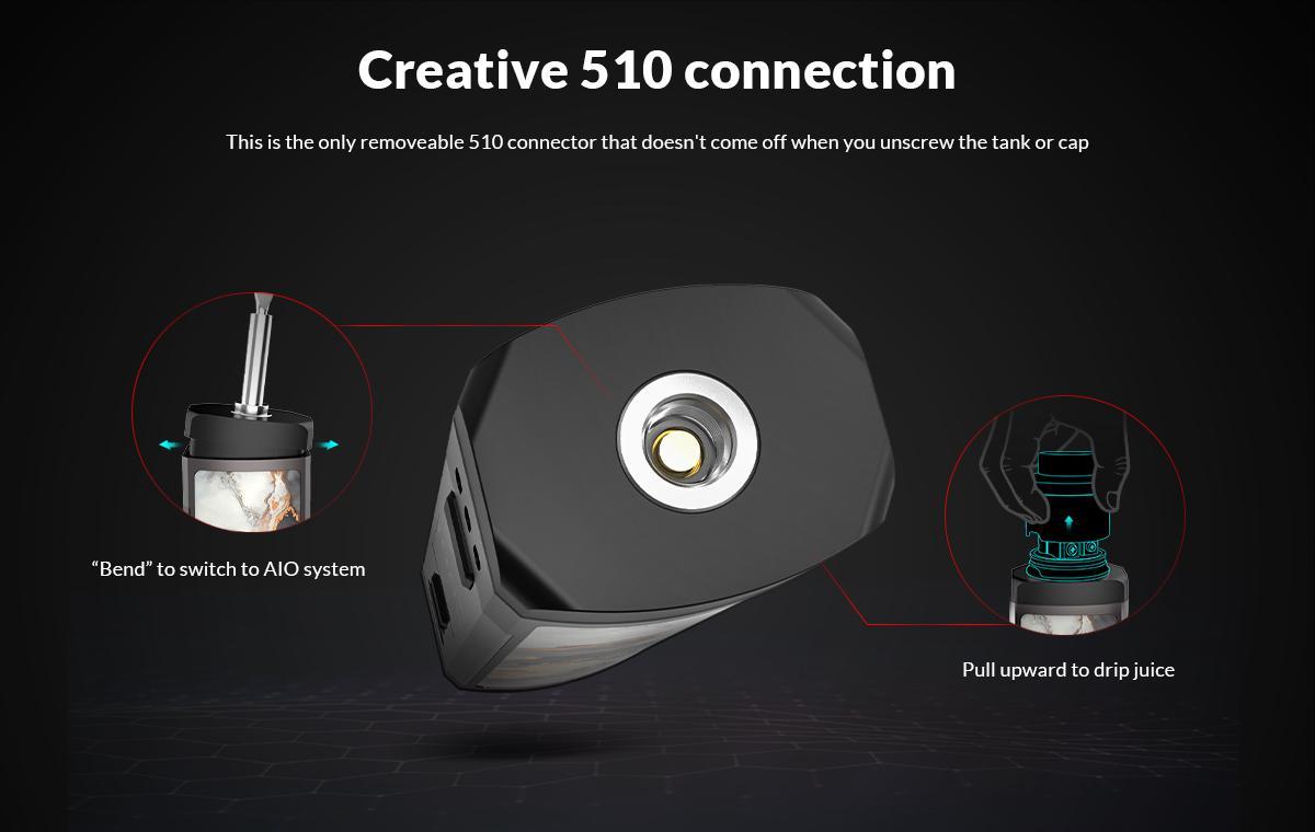 Conector 510 de OXVA Velocity: